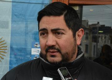 Secretario de Obras Públicas del Municipio, José Zavaley
