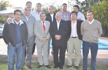 Intendentes Riojanos por la coparticipación