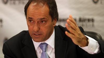 """Reelección de intendentes: para Scioli """"los problemas son otros"""""""