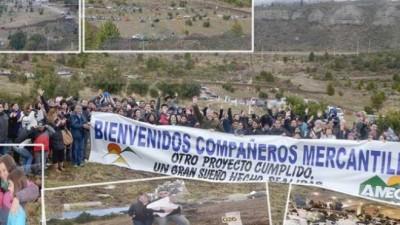Avanzan las soluciones habitacionales en Bariloche para afiliados de SOYEM y AEC