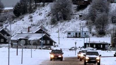 La primera nevada en Ushuaia anticipa la temporada de invierno