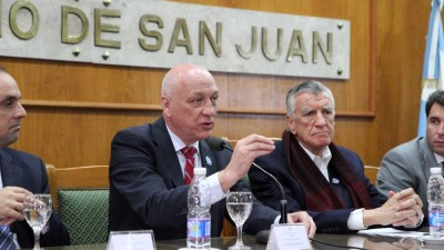 Túnel de Agua Negra: El Corredor Bioceánico es estratégico para Santa Fe