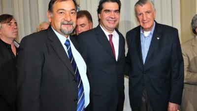 Reunión de la FAM, con la presencia de Capitanich, Gioja y Molina