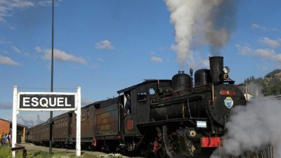 Avanzan los trabajos para habilitar las vías de La Trochita entre Esquel y El Maitén