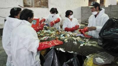 Paraná: aracterizan la basura para saber cuánto se puede reciclar