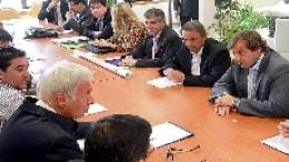 Tras la reunión, De la Sota dijo que no le debe a Río Cuarto