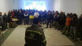Más de 250 trabajadores municipales decidieron ir al paro la próxima semana.