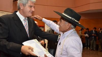 """Salta: """"Criollos y comunidades originarias hacen hoy realidad el sueño de la propiedad de las tierras"""""""