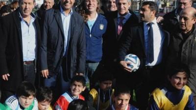«Buscamos facilitar los objetivos de los municipios», sostuvo Scioli en Berazategui