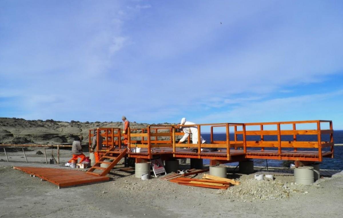 Destinan más de 20 millones de pesos en infraestructura para turismo en Chubut