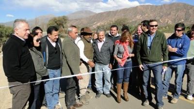 El Gobierno construirá importante obra de impacto social en Famatina