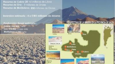 """Salta:""""La minería puede generar 80.000 puestos de trabajo en nuestra provincia"""""""