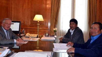 El Gobernador de Jujuy comprometió apoyo a los municipios