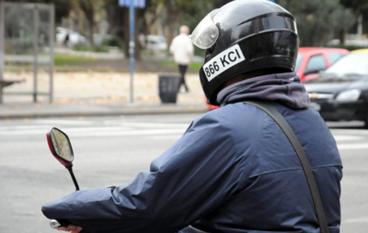 Mar del Plata: Motociclistas que lleven acompañantes sin casco y chaleco serán multados