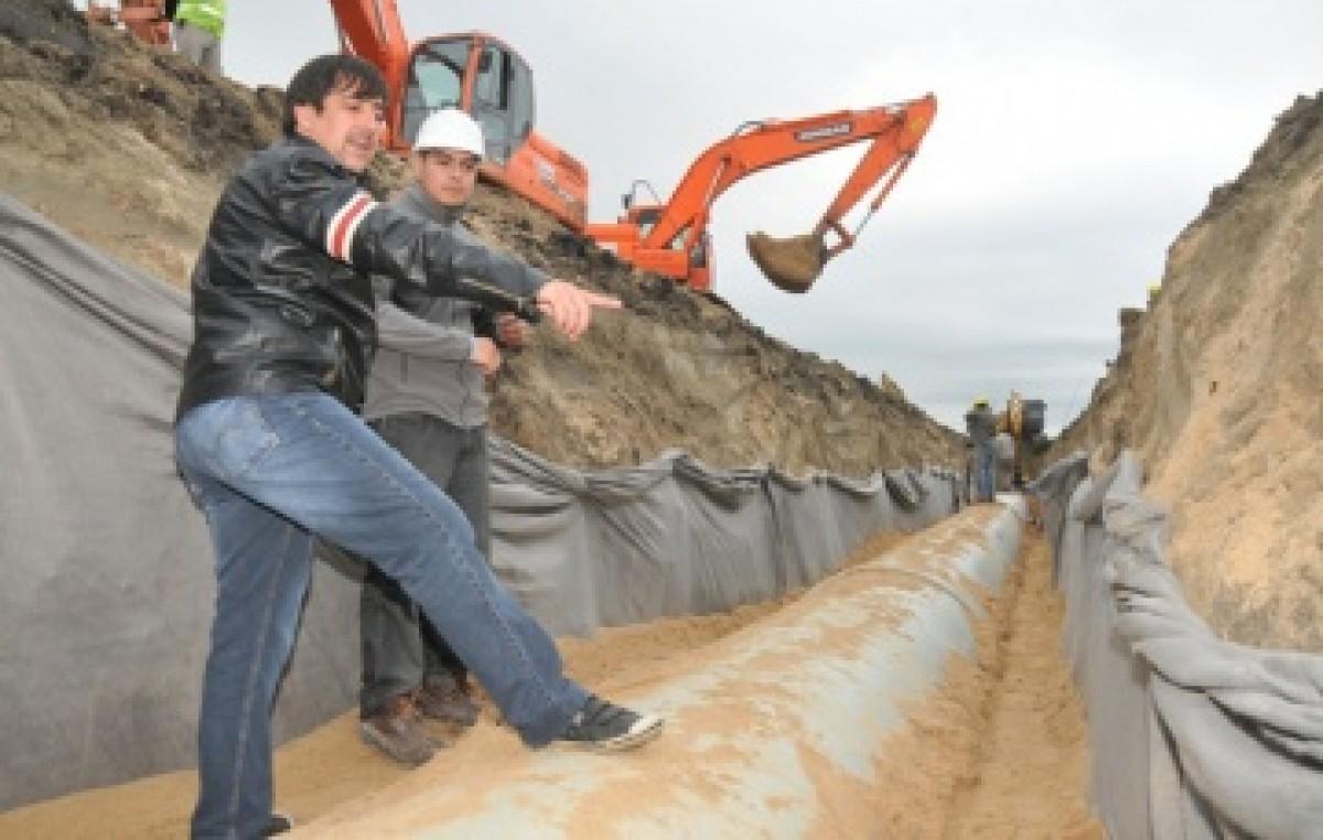 El segundo acueducto para el interior Chaqueño ya tiene un 40 % de avance
