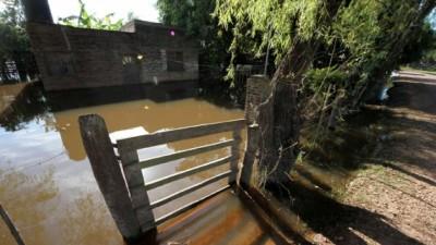 Otra vez el Paraná en alerta por lluvias en la alta cuenca