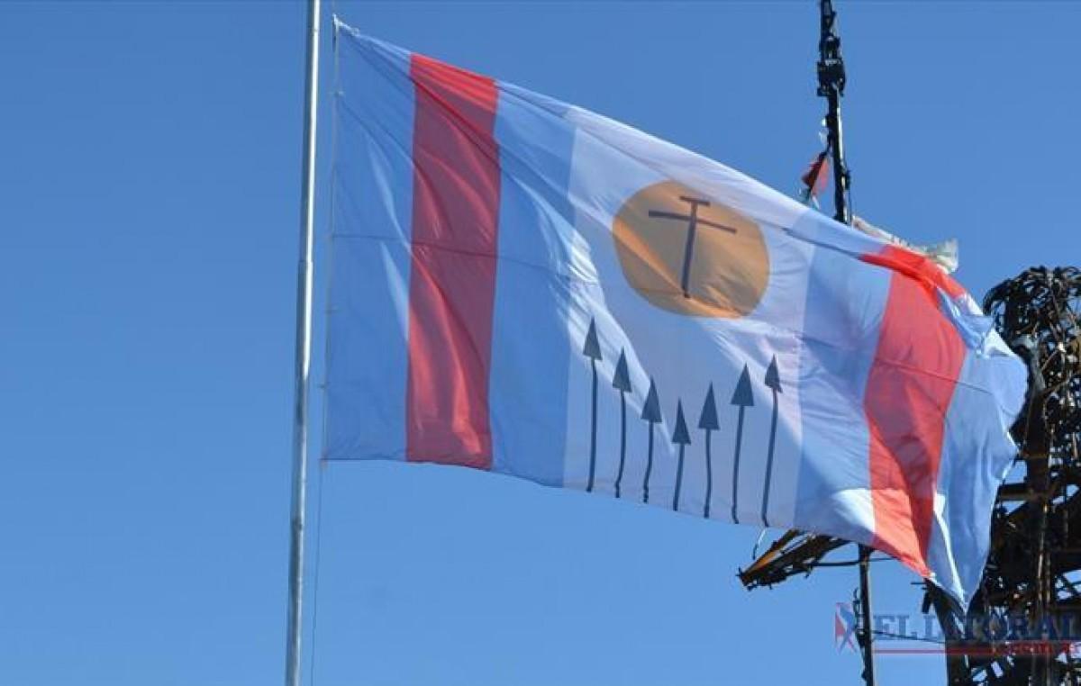 La ciudad de Corrientes estrenó su nuevo símbolo