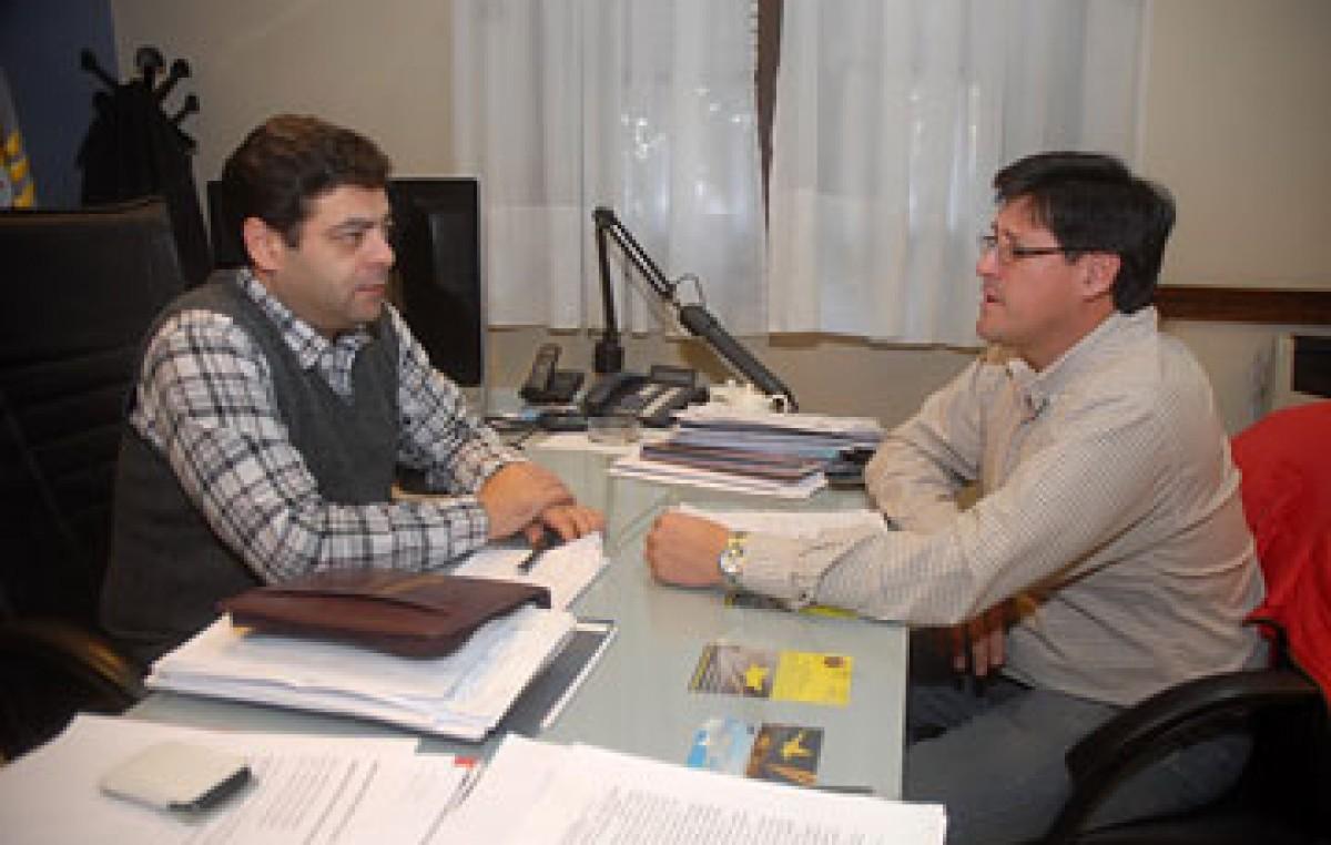 Establecen una agenda de trabajo para municipalizar El Chaltén