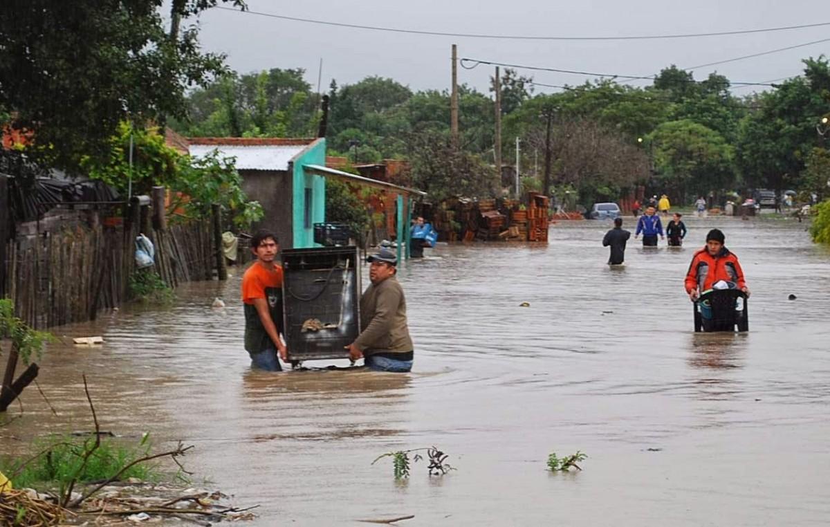 Anegamientos: Hay más de 30 mil afectados en Clorinda