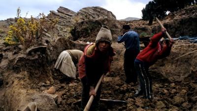 Bolivia reconocería el trabajo infantil desde los 12 años