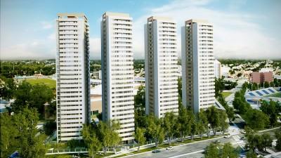 Río Cuarto: Primeras señales de mejora en la construcción: se edifican 87 torres