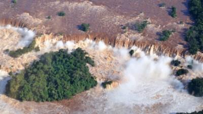 Por crecida del Iguazú, cerraron acceso a los tres circuitos de Cataratas