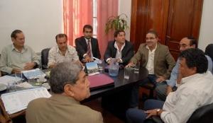 REUNIÓN. LA COMISIÓN ANALIZARÁ LA SITUACIÓN DE LOS MUNICIPIOS PARA EL PAGO DEL AGUINALDO.