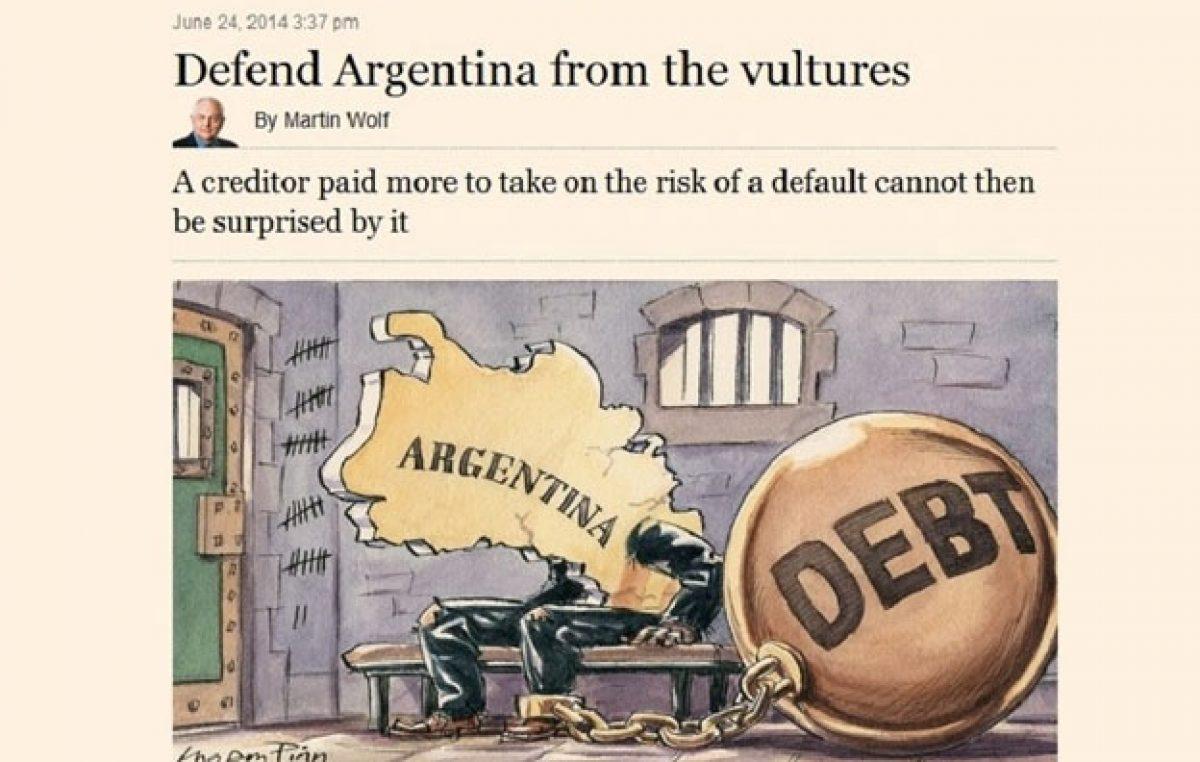 El Financial Times calificó de «extorsión» el fallo del juez Griesa a favor de los fondos buitres
