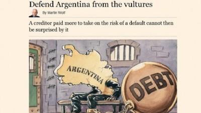 """El Financial Times calificó de """"extorsión"""" el fallo del juez Griesa a favor de los fondos buitres"""