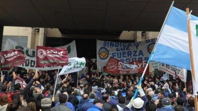Municipales Cordobeses y empleados de Epec marchan a Tribunales contra Ganancias
