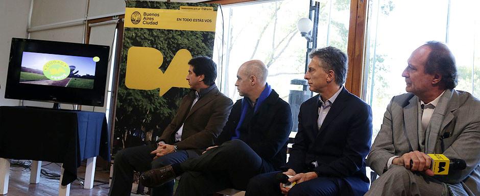 Se lanzó Buenos Aires Verde, en pos de una ciudad sustentable