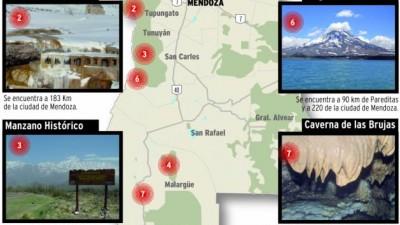 Áreas naturales de Mendoza tendrán nuevainfraestructura