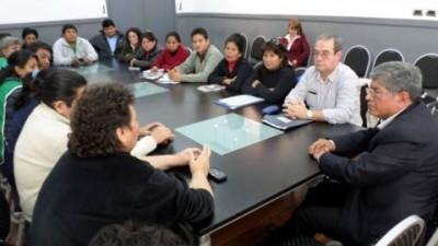 Intersindical planteó al municipio Jujeño los reclamos de los trabajadores de ese sector