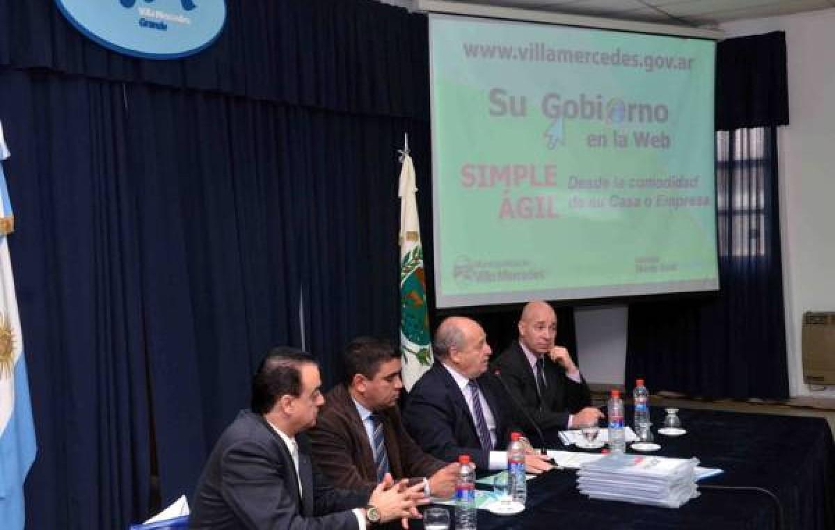 Ya se pueden hacer trámites municipales por internet en Villa Mercedes