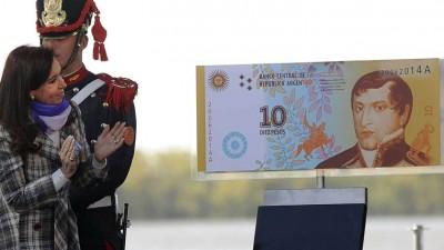 Cristina anunció la creación de un nuevo billete de $ 10