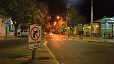 San Juan:  en Santa Lucía,  hay menos accidentes por las campañas viales