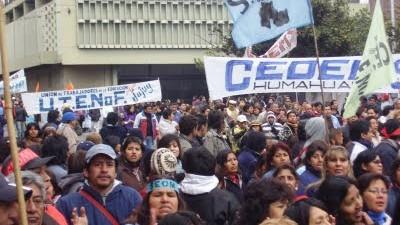 Jujuy: Lunes y martes para el Frente de Gremios
