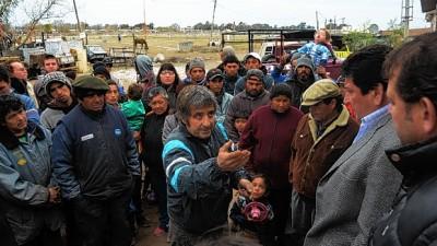 En un clima de tensión, arranca un censo a los cartoneros de Bahia Blanca