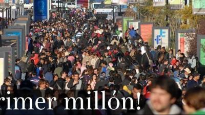 Récord de un millón de visitas en la primera semana de Tecnópolis