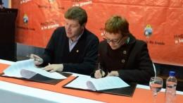 Río Grande: firmaron acuerdo de cancelación de deudas de coparticipación