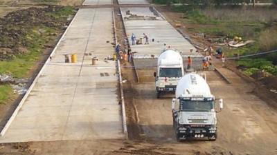 Avanzan trabajos de emplazamiento del Parque Industrial en Florencio Varela