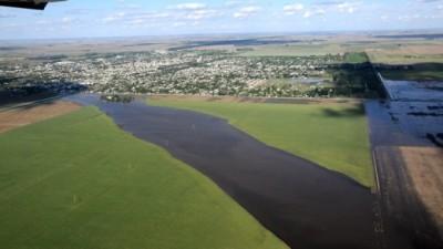 Inician en Marcos Juarez la construcción del canal para evitar inundaciones