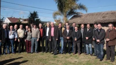 El Diputado Julián Domínguez encabezó encuentro de Intendentes bonaerenses