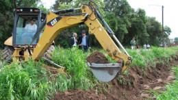 Río Cuarto: por la pelea con los holdouts, se frenó el crédito para obra pluvial en Laguna Blanca