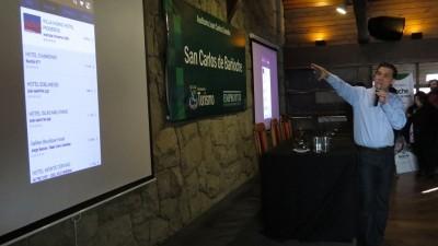 Bariloche presentó la primera guía turística geolocalizada del país