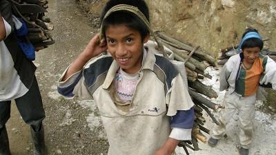Más de 850.000 niños se ven obligados a trabajar en Bolivia