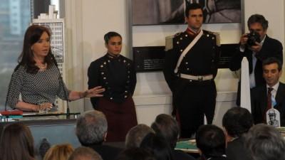 Cristina anunció beneficios para los damnificados por las inundaciones del Litoral