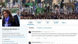 Fondos buitre: Cristina destacó el apoyo de la OEA