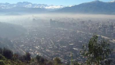 Declaran alerta ambiental por mala calidad del aire en Santiago de Chile