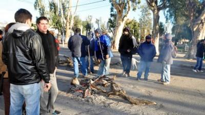 Empleados municipales se manifestaron en Madryn